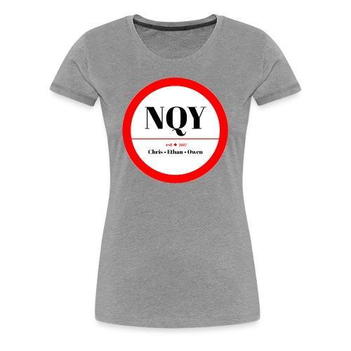 Not Quite Yet classic Canada design - Women's Premium T-Shirt