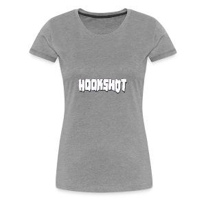 Hookshot White Logo - Women's Premium T-Shirt