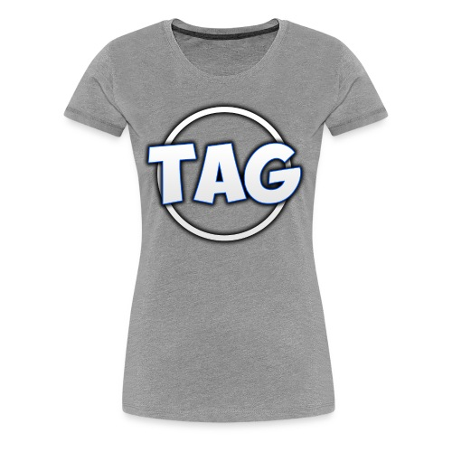 The Athletic Gamer Logo - Women's Premium T-Shirt