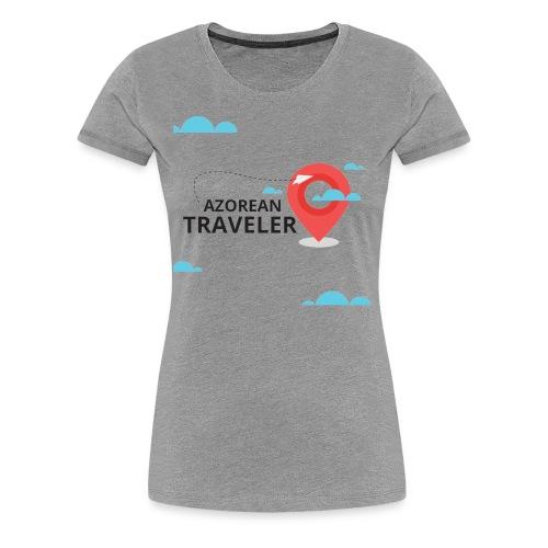 AzoreanTraveler - Women's Premium T-Shirt