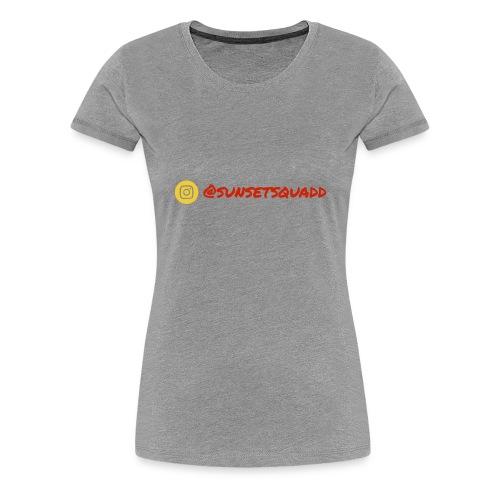 SunsetSquadd Handle - Women's Premium T-Shirt