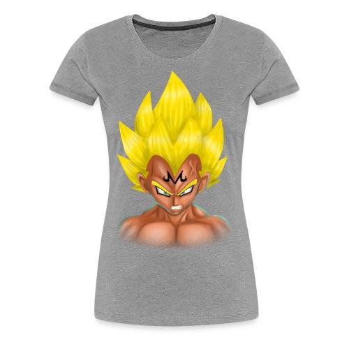 vegeta front majin boo - Women's Premium T-Shirt