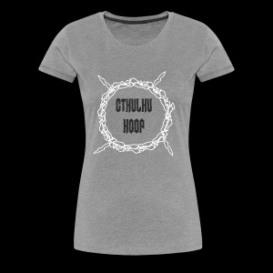 Cthulu Hoop - Women's Premium T-Shirt