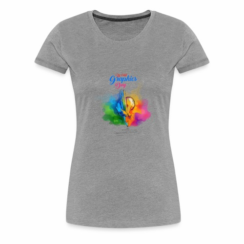world graphics day - Women's Premium T-Shirt