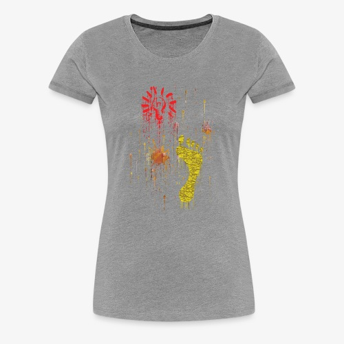 Abstract, Gift For Her And Him - Women's Premium T-Shirt