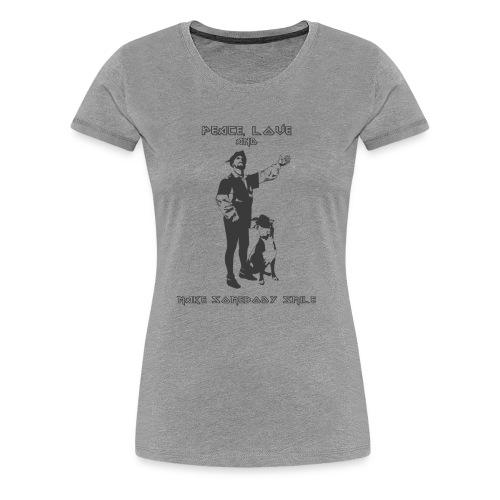PEACEandLove - Women's Premium T-Shirt