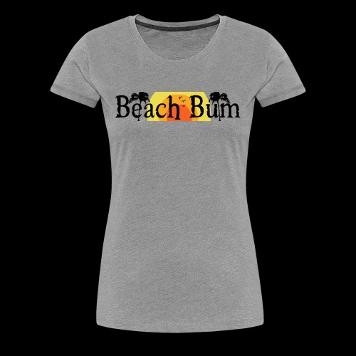 BeachBumlogowithTREES - Women's Premium T-Shirt
