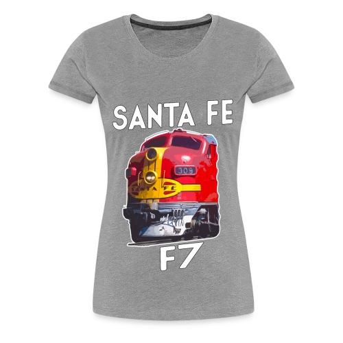 Santa Fe F7 - Women's Premium T-Shirt
