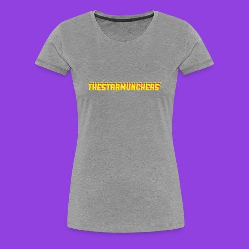 TheStarMunchers Logo - Women's Premium T-Shirt