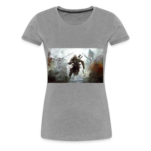 assassins creed 3 - Women's Premium T-Shirt