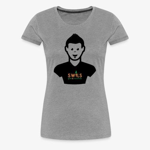 Swils – Cartoon Wil - Women's Premium T-Shirt