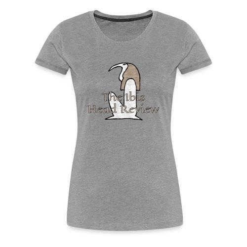 The Ibis Head Review Logo - Women's Premium T-Shirt