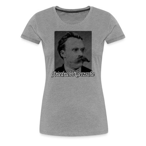 Friedrich Nietzsche German Philosopher - Women's Premium T-Shirt