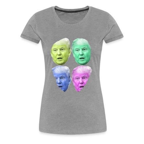 Donald Trump Heads - Women's Premium T-Shirt