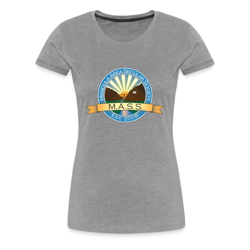 Missoula Area Secular Society Logo - Women's Premium T-Shirt