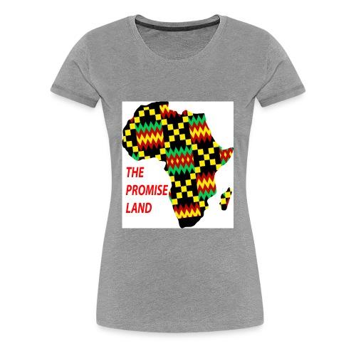 AFRICA THE PROMISE LAND - Women's Premium T-Shirt