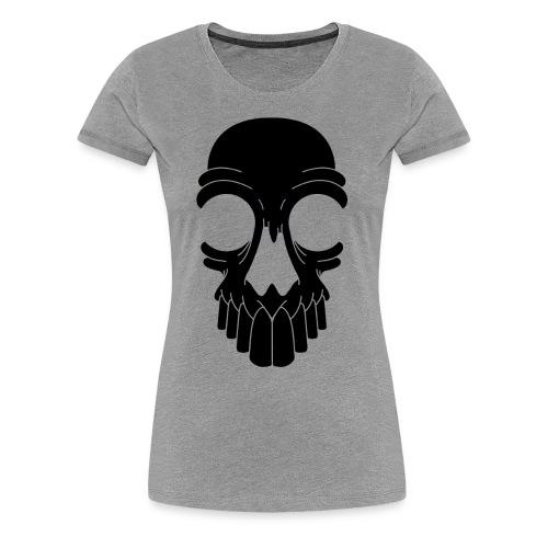 Z10 Skull Logo - Women's Premium T-Shirt