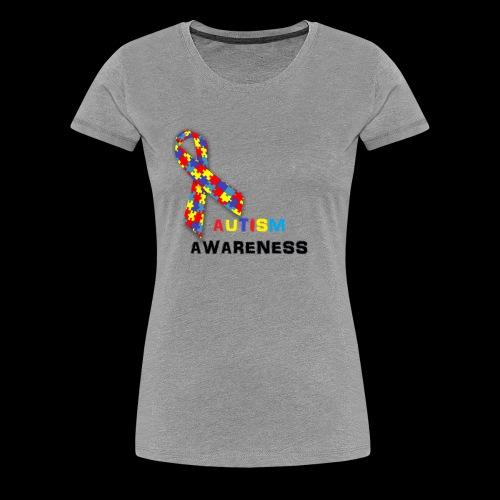 AutismRibbon - Women's Premium T-Shirt