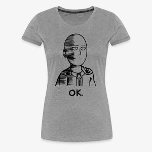 saitama - Women's Premium T-Shirt