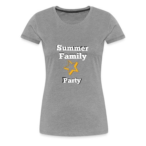 Summer party T-shirt - Women's Premium T-Shirt