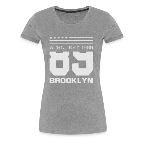 Athletic Sport Brooklyn Typography - Women's Premium T-Shirt