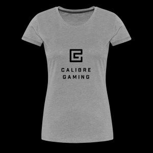 Calibre Gaming Logo - Women's Premium T-Shirt