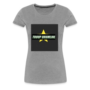 TROUP DRUMLINE MERCH - Women's Premium T-Shirt