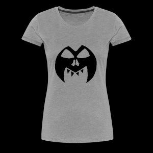 Black Transparent Logo - Women's Premium T-Shirt