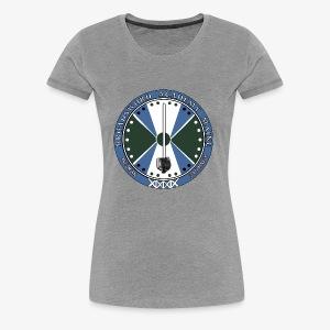 BAM Faded Logo - Women's Premium T-Shirt
