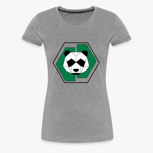 Panda Geometric - Women's Premium T-Shirt