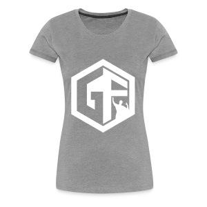 GF Logo Whitek - Women's Premium T-Shirt
