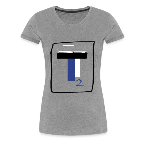 new T2 youtubers merch - Women's Premium T-Shirt