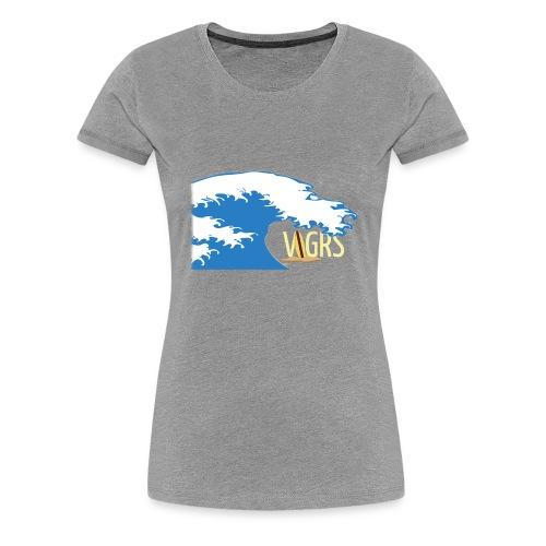 surfboard logo - Women's Premium T-Shirt