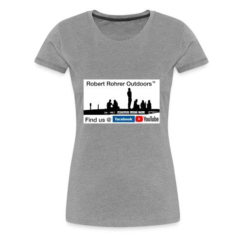 Robert Rohrer Outdoors Fishing - Women's Premium T-Shirt