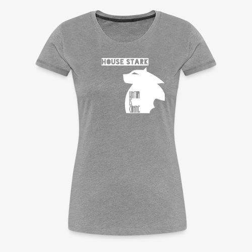 The House of the Winter - Women's Premium T-Shirt