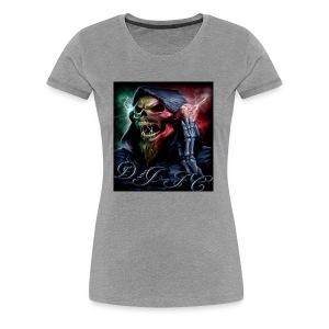 Dj fc blue - Women's Premium T-Shirt