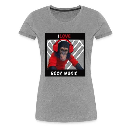 iLove - Women's Premium T-Shirt