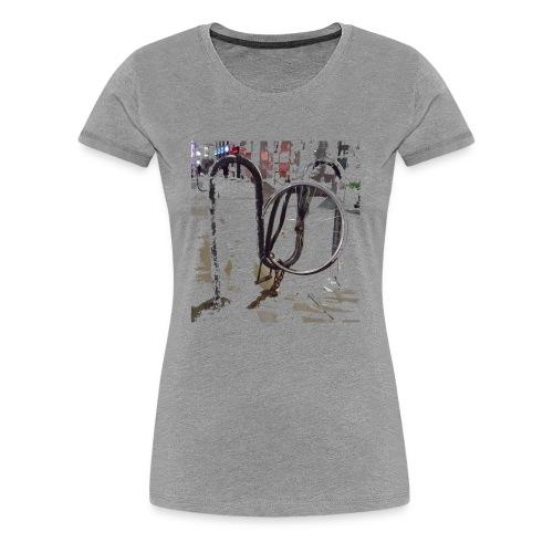 Bike Lock - Women's Premium T-Shirt