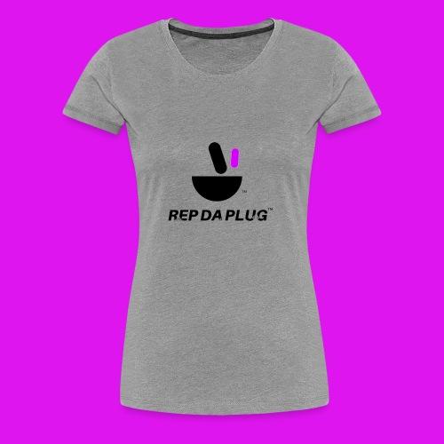 Plug de Música logo - Women's Premium T-Shirt