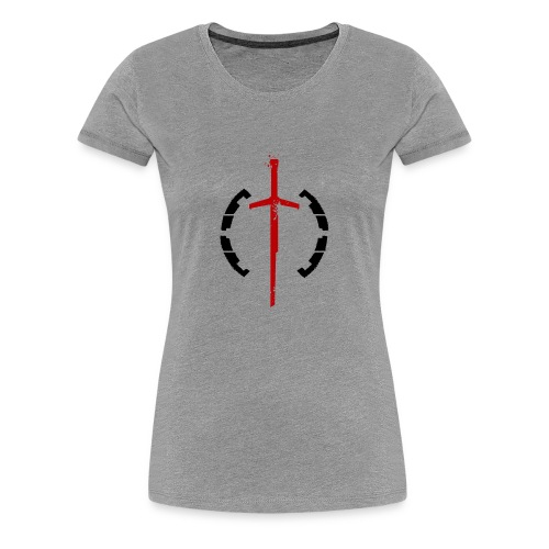 Faction Sword Logo V2 - Women's Premium T-Shirt