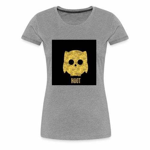 Hoot - Women's Premium T-Shirt