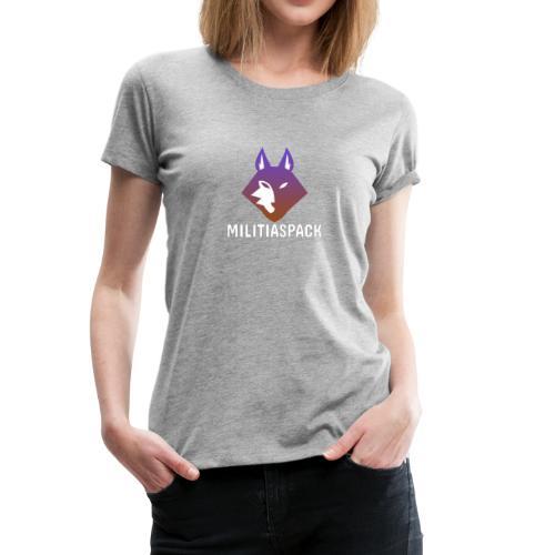 Militiaspack Purple - Women's Premium T-Shirt