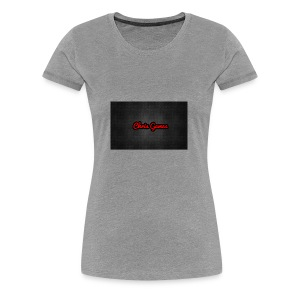 Channel Logo Tee Shirt - Women's Premium T-Shirt