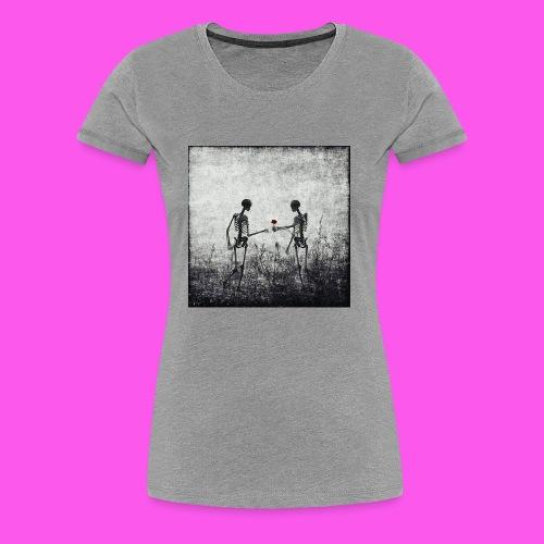 Skeletons in love - Women's Premium T-Shirt