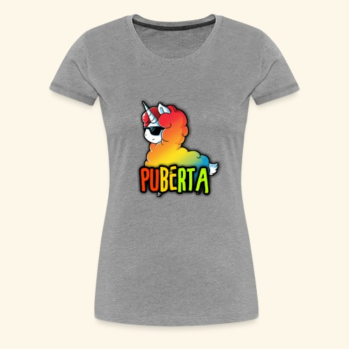 Puberta Merch - Women's Premium T-Shirt