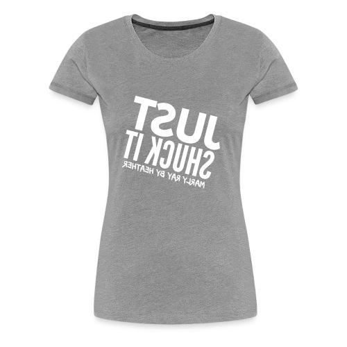 HEATHER FLIPPED - Women's Premium T-Shirt