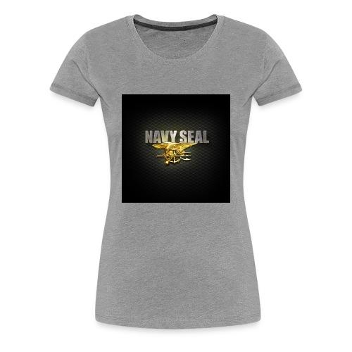 Navy SEAL 1024x1024 2 - Women's Premium T-Shirt