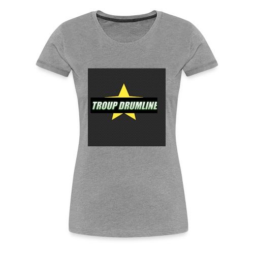 TROUP DRUMLINE MERCH - Women's Premium T-Shirt