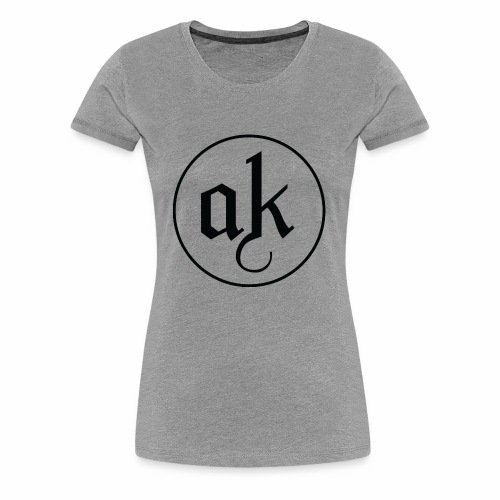 AK LOGO Black - Women's Premium T-Shirt
