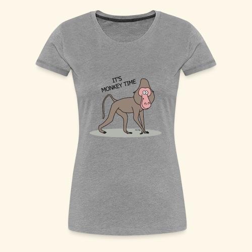 It's Monkey Time - Women's Premium T-Shirt